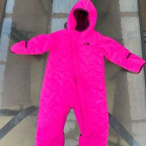 The North face baby snowsuit